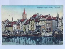 alte AK Königsberg Ostpr.1934 Untere Fischbrücke Kaliningrad Russland Preußen