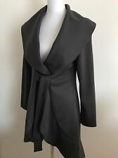 New Womens grey Trench coat size 8