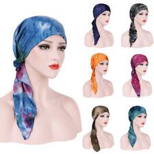 Women Muslim Cancer Chemo Headwrap Turban Hat Hair Loss Head Scarf Cover Hijab