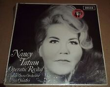 NANCY TATUM - Operatic Recital - Decca LXT 6221 SEALED