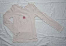 T-shirt rose manches longues pour filles, Okaïdi, 10 ans (140 cm)