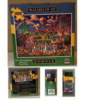 1000 Piece Jigsaw Puzzle WIZARD OF OZ by DOWDLE Factory Sealed / New