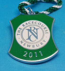 Newbury Horse Racing Members Badge - 2011