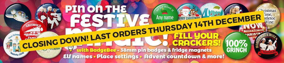 BadgeBee Badges & Fridge Magnets