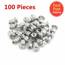 100 pcs Winter Tire Spikes Wheel Lugs Car Tires Studs Screws Snow Studs 8x10mm