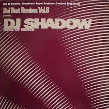 DJ SHADOW - DEF BEAT REMIXES VOL 8 (CD)