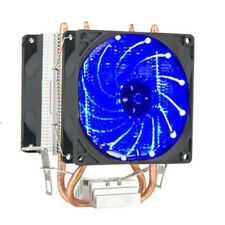 11*7.5cm LED CPU Dual Fan Cooler Heatsink for Intel Socket LGA2011/LG1366 AMD