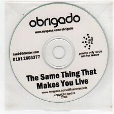 (FU379) Abrigado, The Same Thing That Makes You Live - 2008 DJ CD
