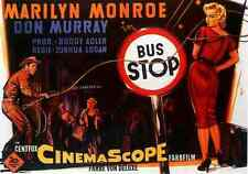 Film Bus Stop 02 A3 Box Canvas Print