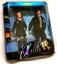 X-Files Scully and Mulder FBI Barbie Collector Edition Original TV Series