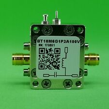 Broadband Bias Tee 10 MHz to 6 GHz (Max.1.2A 100V DC)