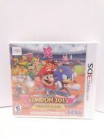 Mario & Sonic at the London 2012 Olympic Games (Nintendo 3DS, 2012) BRAND NEW!!