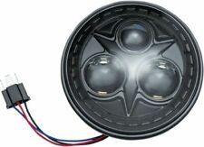 "Kuryakyn Orbit LED Headlight 5.75"" #2475 Harley Davidson/Indian/Victory Black"