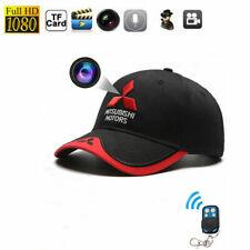 1080P HD Hidden Spy Camera DVR Baseball Hat TRUCKER Cap Remote control Recorder