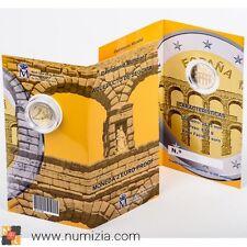 ESPAÑA 2 Euro 2016 Acueducto de Segovia en cartera (Proof)