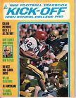 1968 Kickoff Football Yearbook magazine, O.J. Simpson, USC Trojans ~ Fair