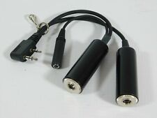 Icom OPC-499 Radio Headset Adapter Cable IC-A6 A24 A22 A3 A14 (new in package)