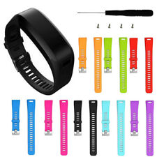 Ersatz Silikon Armband für Garmin Vivosmart HR Fitness Tracker Sport Watch Neu