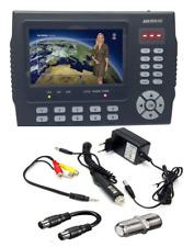 """SAB Meter 3510 HD DVB-S/S2 und MPEG-2/4 Digitales Satfinder 4,3"""" LCD-Farbdisplay"""