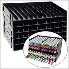 Spectrum Noir Crafters Companion Pen Black Storage Unit 8 trays for 96 pens