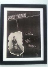 JOHNNY THUNDERS So Alone 1978*ORIGINAL*POSTER*AD*FRAMED*FAST WORLD SHIP