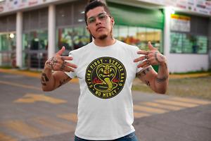 Cobra Kai T-shirt Tee Top Karate Kid Movie Kung Fu Martial Arts Retro Men Unisex