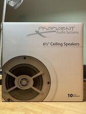"""Proficient C605 6 1/2"""" Premium Ceiling Mount Speakers Surround Sound"""