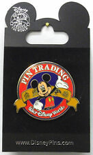 Mouse Lapel Pin in Silver Plate New Disney Pin Trading Around The World Mickey