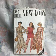 New Look 6197 jacket, vest, skirt, pants vintage UNCUT sewing Pattern size 12-24
