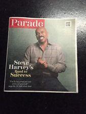 "Parade Sunday Magazine October 5, 2014 Steve Harvey ""Road  To Success"""
