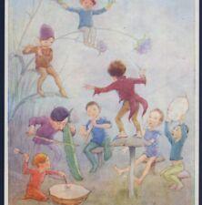 """Near Mint.!.""""Pixie Jazz Band"""",Musical Fairy,Elves,Director,Tarr ant Postcard"""