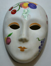 """Small Venice Mask """"CERES"""" in Porcelain Biscuit - Philae Collection – 1988"""