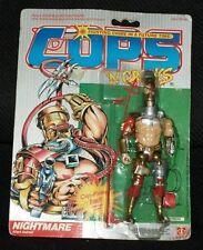 1986 Hasbro C.O.P.S N Crooks NIGHTMARE action figure NRFP