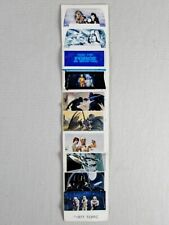 TEXAS INSTRUMENTS DIGITAL WATCH DECAL SHEET unused vintage Star Wars sticker set