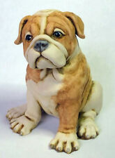 Harmony Kingdom artist Neil Eyre Designs New English Brindle Bulldog Pup Puppy