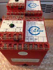 Elan   SRB-QS.2/1 Safety relay x2  Fanuc