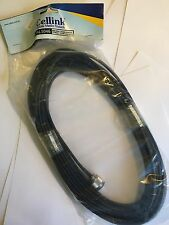 """Yagi Coaxial Lead x15 Metres """"N"""" Connector-Male to SMA-M Low-Loss LL195 CAL5046"""