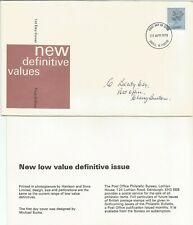 GB FDC 1978 NEW DEFINITIVE VALUE