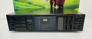 Nakamichi BX-300 Discrete 3-Head Direct Drive Cassette Deck Tested Works Great!