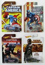 Captain America, Sir Ominous - Spectyte - RD08 - Rivited ~  Lot of 4 Hot Wheels