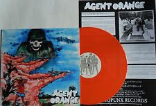 LP Agent Orange (NL) demo's & More ARANCIONE VINILE (UC) gummopunx Records gpr-017
