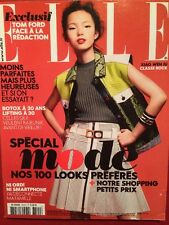 ELLE 22/02/2013 - Xiao Wen Ju Chloe Sevigny Tom Ford Special Mode 400 pages