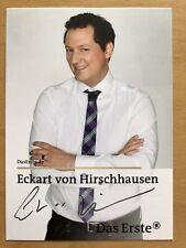 Eckart De Hirschhausen Ak Ard Frag La Souris Carte Autographe Original Signé 2