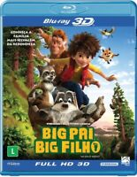 Blu-ray 2D + 3D Big Pai Big Filho [ The Son of Bigfoot ] [Audio English] Reg ALL