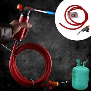 Propane Liquefied Gas Welding Torch 2M Hose Kit Gas Plumbing Turbo Torch