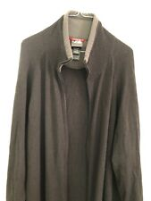 Mens The North Face Black/gray Full Zip Sweater Fleece Jacket Size Xl