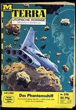 Terra-- Utopische Romane -- Science Fiction -- Band 519 -- Romanheft -- Moewig-