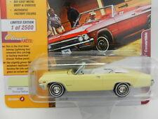 2018 Johnny Lightning *CLASSIC GOLD 2A* YELLOW 1965 Chevy Impala Convert NIP