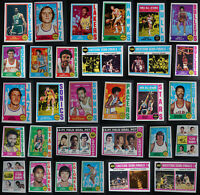 1974-75 Topps Basketball Cards Complete Your Set U You Pick From List 133-264