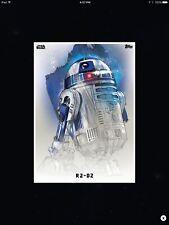 STAR WARS CARD TRADER - THE LAST JEDI - PREMIERE PORTRAITS - R2-D2